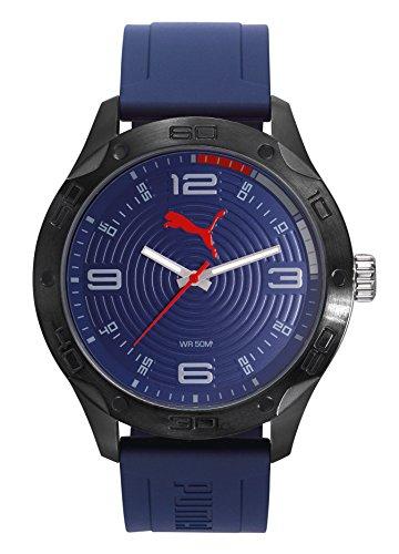 Puma Time PU104211002 - Reloj para Hombre, Color Azul