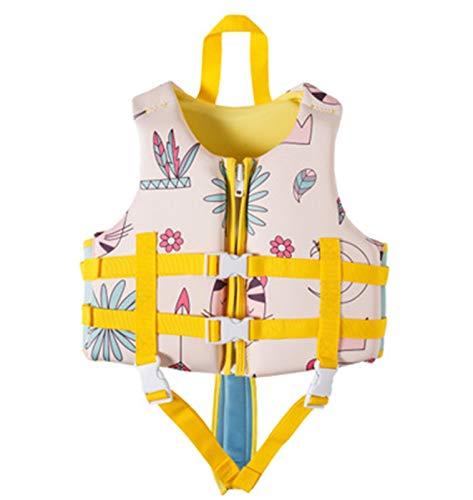 FR&RF Chaleco de Vida Chaleco Salvavidas de Alta Resistencia Natación para niños para Deportes acuáticos Natación Niños Niños Chaleco de Seguridad para bebés,5,S