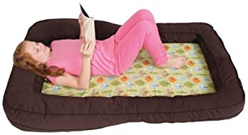Leachco BumpZZZ Travel Bed Brown/Green Forest Frolics