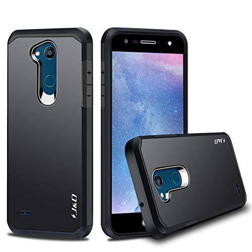 J&D Compatibile per Cover LG X Power 3, [Protezione Robusta] [Armatura Sottile] Ibrida Antiurta Protettiva aspra Custodia per LG X Power 3 - [Non Compatibile con LG X Power 2/LG X Power] - Nero
