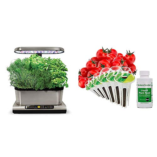 Miracle-Gro AeroGarden Harvest Elite con...