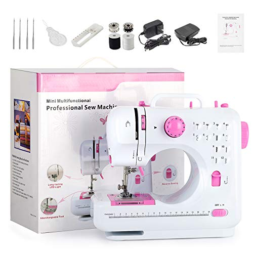 Mini Sewing Machine Portable Sewing...