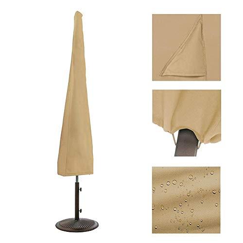 Funda para sombrero, banana, cantilever Hanging extragrande, funda protectora para paraguas, cubierta protectora para exterior Patio, lluvia, cubierta de tela Oxford transpirable impermeable