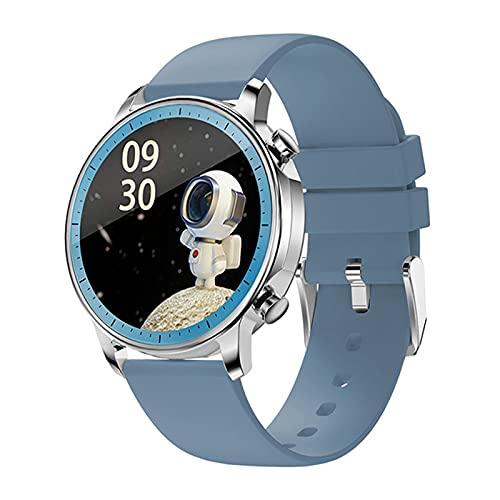 JXFF V23 2021 Bluetooth Women Smart Watch Touch IP67 Hombres Deportivos A Prueba De Agua Reloj Electrónico para iOS Android,B