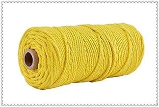 DXLANS Jute Koord 3mm Katoenen Koord Kleurrijk Koord Touw Beige Twisted Craft Macrame String DIY Thuis Textiel Bruiloft De...