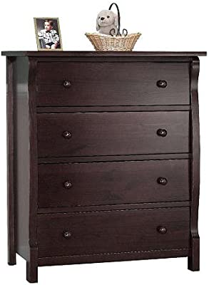 Amazon.com : Delta Universal 6 Drawer Dresser, Dark Cherry ...
