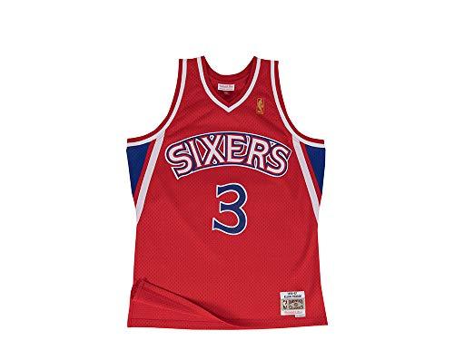 Mitchell & Ness NBA Philadelphia 76ers Allen Iverson 1996-1997 Swingman Jersey XX Large