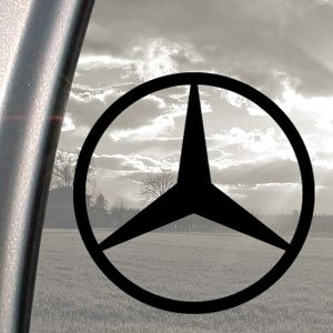 Avery Zweckform Mercedes Benz Scheibenaufkleber, C E S Klasse, Schwarz