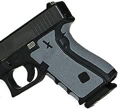 Foxx Grips -Gun Grips Glock 26, 27, 28, 33, 39 Grey (Grip Enhancement)