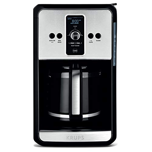 professional KRUPS, coffee machine with programmable turbo filter, stainless steel, Savoy EC414050