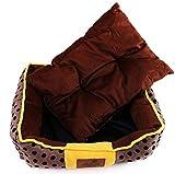 Pet Nest, Kennel Chow Chow Cachorros Taza de té Perro Ciervo Perro Kennel Husky Kennel Cama para Mascotas (Size : 55 * 45 * 15cm)