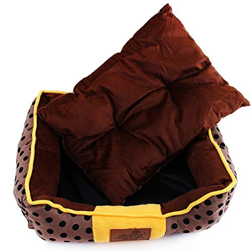 Pet Nest, Zwinger Chow Chow Puppies Teacup Dog Deer Hundehütte Husky Kennel Haustierbett (Size : 55 * 45 * 15cm)
