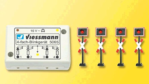 Viessmann 5835 - H0 Andreaskreuze, 4 Stück