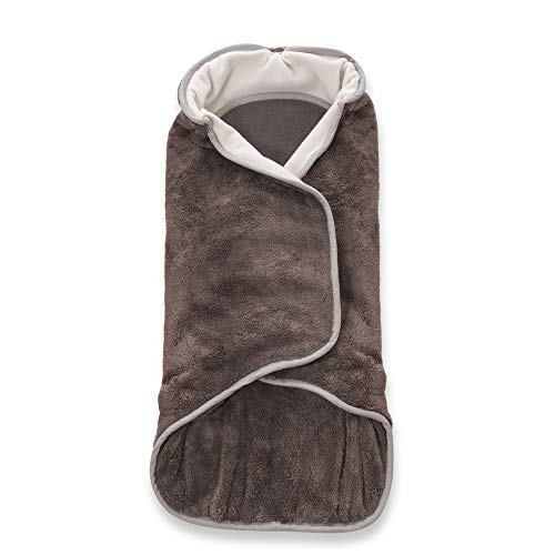AEROMOOV - Couverture Enveloppante Air Wrapper - Couverture enveloppante - Entièrement sécurisée - Taille S jusqu'à 72 cm - Anthracite