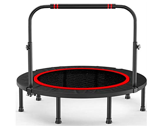 NEWRX Trampoline gym home children indoor bouncing bed outdoor rubbing bed adult sports weight loss jumping bed (Color : Glory48inches)
