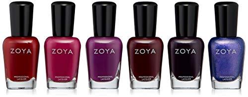 ZOYA Nail Polish, Element Sampler B, 12.7 fl. oz.