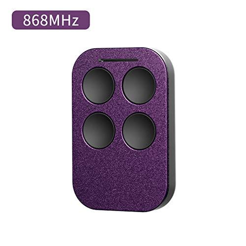 Universal Handsender, Flysocks 868MHz Sender für mit 4 Tasten, Garagentor Funkfernbedienung, Selbstlernend Transmitter, Kompatibel mit HSM2, HSM4, HS1, HSES2, HSZ1, HSP4, 4020, 4026
