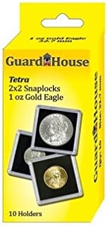 Guardhouse Tetra Snap Lock 2x2 1 oz AGE Coin Holder 10 Pack