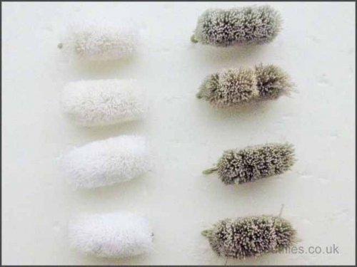 Brotfliege zum Fliegenfischen, 8 Stück, Brotfliege (Meeräschenfliege), verschiedene Größen, All Mixed