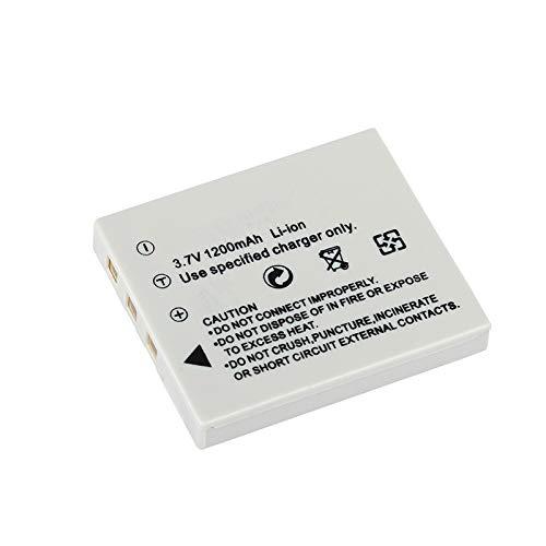 Grehod Batería de cámara de 3,7 V 1200 mAh para Fujifilm NP-40N NP-40 NP 40 NP40 DLI-102 D-LI8 D-Li85 SLB-0737 1pcs