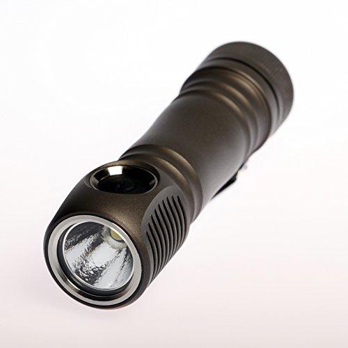 Zebralight SC63w 1100 Lumen XHP35 Neutral White LED Flashlight