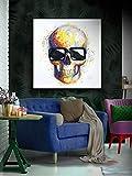 Schuller - Cuadros Decorativos - Pintura Acrílica - Catrina 100x100