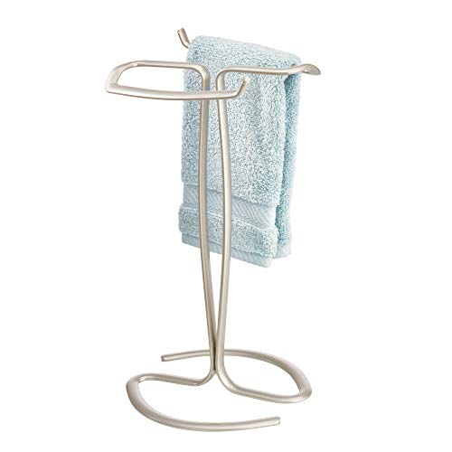 InterDesign Axis - Free Standing Towel Rack for Bathroom Vanities