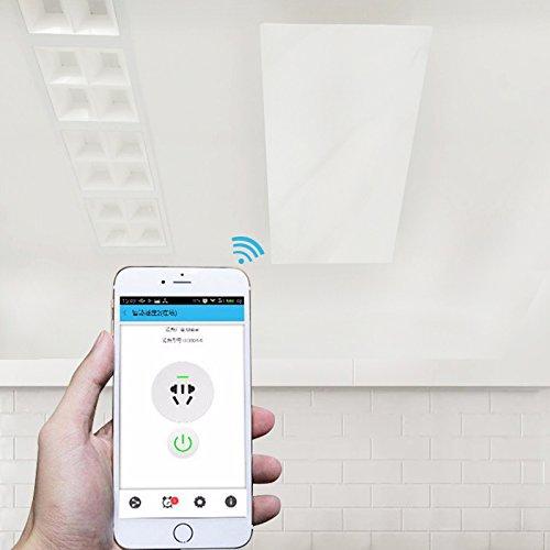Infrarotheizung Deckenheizung 400 Watt + Steuerung per Smartphone HDW - 4
