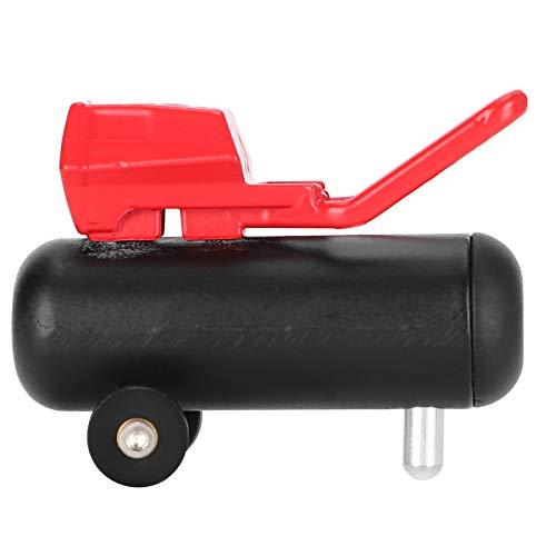Zuverlässige tragbare praktische RC-Luftpumpe, Simulationsluftpumpe, Allzweck für RC-Automodelle Professionelle Verwendung von RC-Car(black)