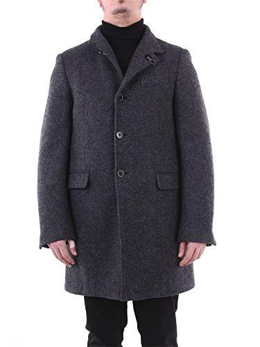 Fay Luxury Fashion Herren NAM5435061JGRIGIOSCURO Grau Wolle Mantel | Jahreszeit Outlet