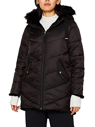 Esprit 099Ee1G023 Parka, Noir (Black 001), XL Femme