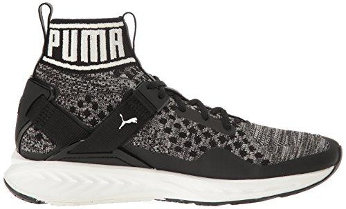 PUMA Men's Ignite Evoknit Cross-Trainer Shoe, Burnt Olive/Forest Night/Puma Black, 10.5 M US