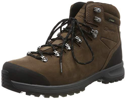 Berghaus Fellmaster Ridge Gore-Tex Tech Boot, Scarpe da Arrampicata Alta Uomo, Marrone (Mid Brown Mdr), 47 EU