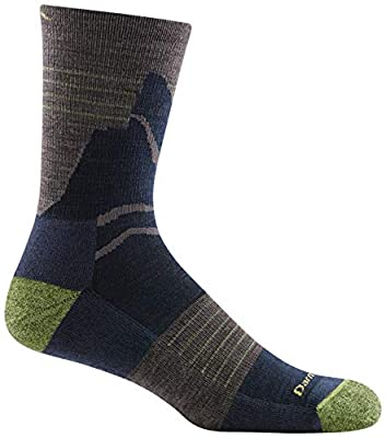 Darn Tough Pinnacle Micro Crew Lightweight Sock with Cushion - Men's Taupe Large