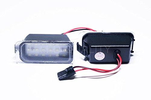 ledpremium 2 x Feux de plaque d'immatriculation LED License Light Ford Grand C-Max Number Plate P Targa CMAX Panneau