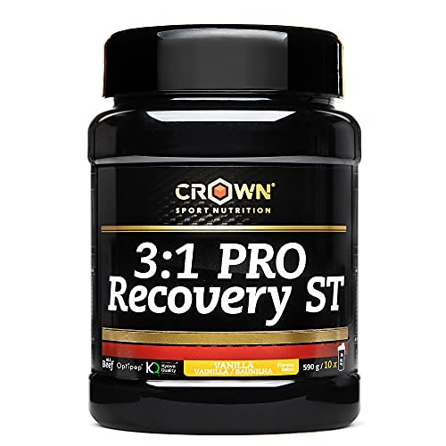 Crown Sport Nutrition Recuperador muscular- 3:1 PRO Recovery drink Post work out fast recovery drink running ciclismo endurance entreno total...