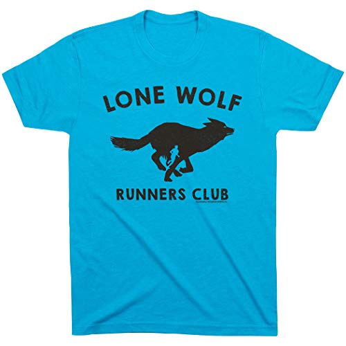 Gone For a Run Run Club Lone Wolf Lifestyle T-Shirt   Running Tees Multiple Colors   Adult Large  ...