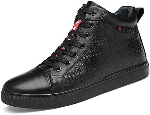 ZQ@QXWinter& 039;s Leder Herrenschuhe koreanischen Platte Schuhe aus aus aus Baumwolle Schuhe ist Super Code Männer Freizeitschuhe  Rabatt niedrigen Preis