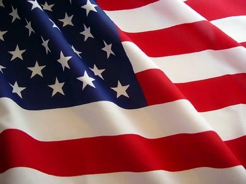 USA Flag. Les étoiles et les Raies Fléchissent. 150 x 80 cm matériel en polyester