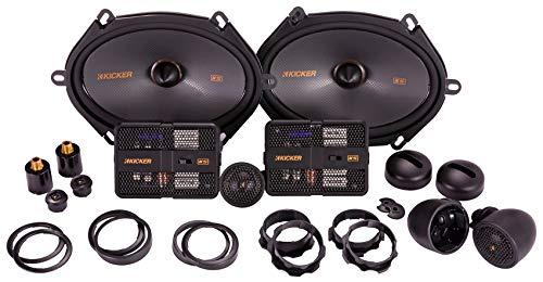 Kicker 47KSS6804 Car Audio 6x8 Component 400W Peak Speakers Pair KSS6804 New