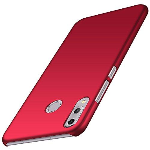 Asus Zenfone 5 ZE620KL Hülle, ZenFone 5Z ZS620KL Hülle, Anccer [Serie Matte] Elastische Schockabsorption und Ultra Thin Design (Glattes Rot)