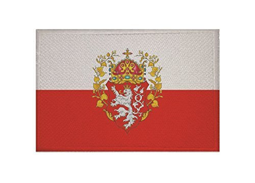 UB Aufnäher Böhmen Königreich Flagge/Fahne Aufbügler Patch 9 cm x 6 cm Neuware!!!