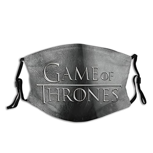 Classic Game Of Thrones Unisex Gezichtsmasker Man Mode Herbruikbaar Gezichtsmasker Bedekt Volwassen Hoofddeksels Anti Luchtstof Voor Motorfiets Met 2 Filter