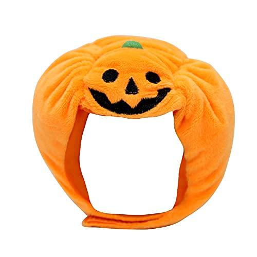Tseria Cute Pet Halloween Festival Dress Up, Sombrero de Calabaza, Accesorios Baratos para Mascotas, Gorras para Perros Sombreros, Mascotas Disfraz Divertido Cosplay.
