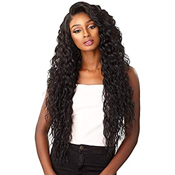 Sensationnel Synthetic Hair Lace Front Wig Cloud 9 What Lace Swiss Lace 13X6 Reyna  1B