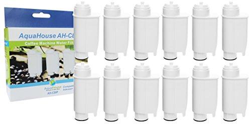 12x AquaHouse AH-CBIP Compatible pour Saeco CA6702/00 Cartouche de filtre à eau Philips, Lavazza, Gaggia machine à café
