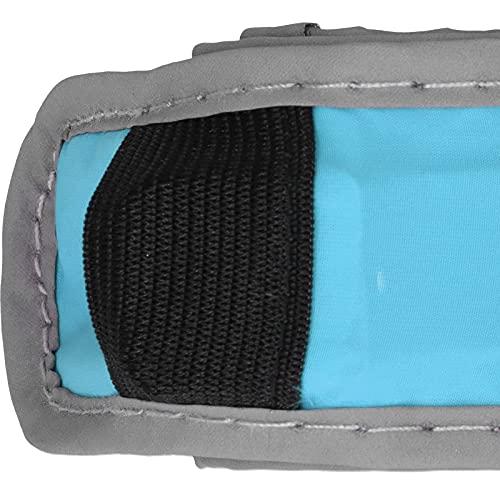 Snufeve6 Brazalete Reflectante, cómodo, Ligero, fácil de Usar, Ajustable, Brazalete para Correr LED para Caminar de Noche, Andar en Bicicleta y Correr(Green)