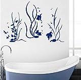 Pegatina Fotomurales Acuario Sea Ocean Marine Vinyl Waterproof Art Decal Dormitorio Y Baño Decoración Extraíble 57X39 cm