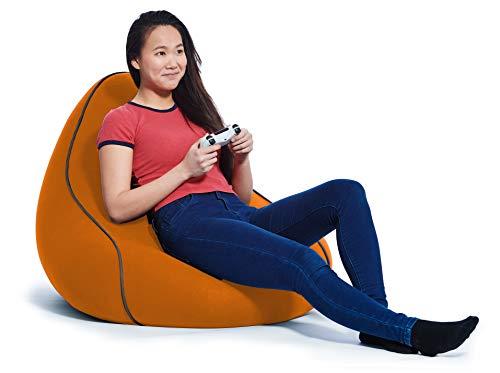Yogibo Lounger Orange Gaming Chair