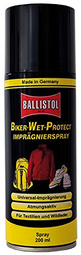 Ballistol Erwachsene Aerosoldose Biker-Wet-Protect Spray, Transparent, 200 ml